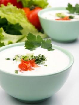 Соус из йогурта и зеленого лука