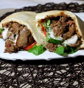 Печень по-египетски