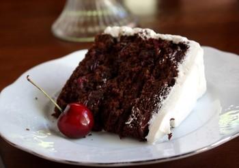 """Торт """"Вишнёвый сад"""""""