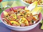 Салат с тунцом и цикорием