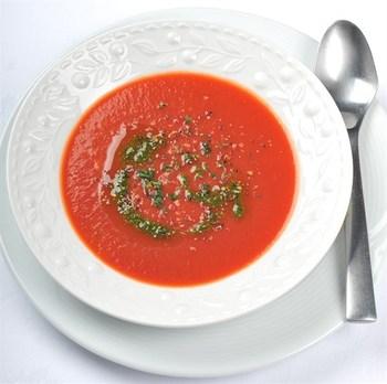 Суп з печених томатів