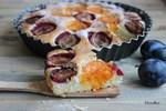 Быстрый сливовый пирог