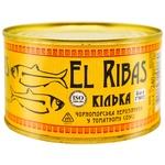 Килька El Ribass в томатном соусе 240г