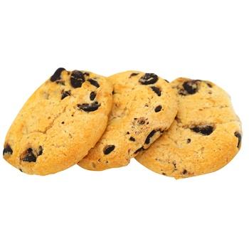 Печенье Roshen Тортинка с кусочками шоколадной глазури - купить, цены на ЕКО Маркет - фото 1