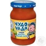 Пюре дитяче Чудо-Чадо яблуко морква айва з 5 місяців 170г