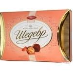 Candy Avk Korolivskiy shedevr almond-cream 300g box Ukraine