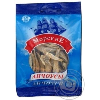 Анчоусы Морские солено-сушеные 18г - купить, цены на Novus - фото 1