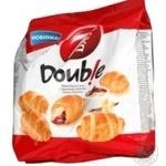 Круассаны 7 days Double мини с двойным кремом какао-ваниль 200г