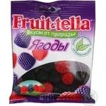 Candy Fruittella Berries with blackberry 70g sachet Russia