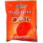 Желе Деко апельсин 90г