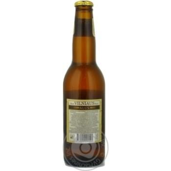 Пиво Вільнюс Алус світле нефільтроване пастеризоване скляна пляшка 5.2%об. 330мл Литва - купити, ціни на Novus - фото 4
