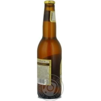 Пиво Вільнюс Алус світле нефільтроване пастеризоване скляна пляшка 5.2%об. 330мл Литва - купити, ціни на Novus - фото 2