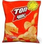 Чипсы Топ чипс со вкусом сыра 22г Украина