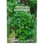 Насіння Гігант Петрушка листова Карнавал Семена Украины 20г