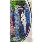 Насіння Квіти Дельфініум багаторічний Семена Украины 2г