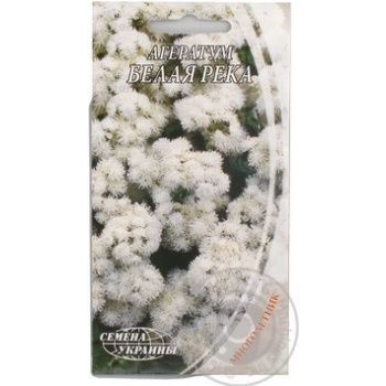 Semena Ukrayiny Ageratum White River Seeds 2g - buy, prices for Tavria V - image 1