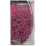 Насіння Квіти Обрієта рожева Семена Украины 1г
