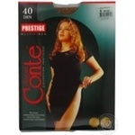 Tights Conte Prestige bronze polyamide for women 40den 6size Belarus
