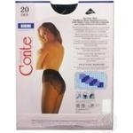 Колготы Conte Bikini 20 Den р.3 nero шт - купить, цены на Novus - фото 3