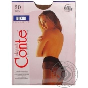 Tights Conte bronze polyamide for women 20den 2size - buy, prices for Novus - image 6