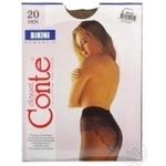 Колготы Conte Bikini 20 Den р.2 bronz шт - купить, цены на Novus - фото 8