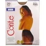 Колготи жiночi Bikini Conte 20 розмiр 3 natural