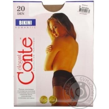Колготы Conte Bikini 20 Den р.3 natural шт - купить, цены на Novus - фото 6