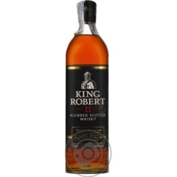 King Robert II Whiskey 40% 700ml - buy, prices for Furshet - image 1