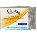 Крем нічний Olay Complete UV 50мл