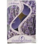 Candle Zirka lavender Russia