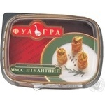 Мусс Фуа гра Пикантный печенка 220г Украина