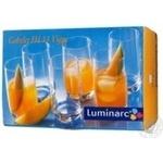 Luminarc High Glasses Set 6pcs 330ml