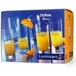 Набір стаканів високих Luminarc Octime 6*320мл