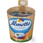 Сыр творожный Хохланд Альметте с йогуртом 35% 150г Польша