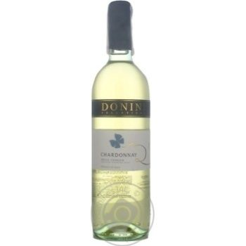 Вино Donini Chardonnay Delle Venezie IGT біле сухе 12,5% 0,75л