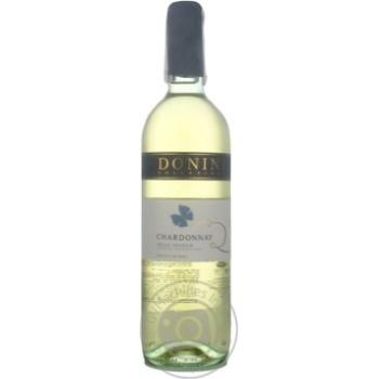 Вино Donini Chardonnay Delle Venezie IGT біле сухе 12,5% 0,75л - купити, ціни на УльтраМаркет - фото 2