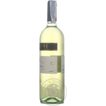 Вино Donini Chardonnay Delle Venezie IGT біле сухе 12,5% 0,75л - купити, ціни на МегаМаркет - фото 3