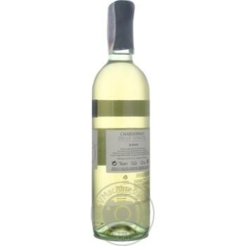 Вино Donini Chardonnay Delle Venezie IGT біле сухе 12,5% 0,75л - купити, ціни на МегаМаркет - фото 4