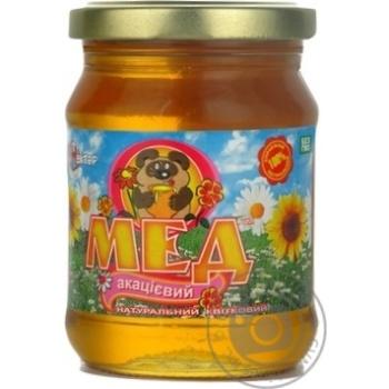 Мед цветочный акациевый 400г Нектар