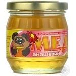 Мед цветочный акациевый натуральный 250г Нектар