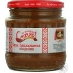 Vegetables Smachno eggplant canned 480ml glass jar Ukraine