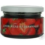 Jam Aromatika strawberry 250g glass jar Ukraine