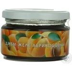 Jam Aromatika apricot 250g glass jar Ukraine