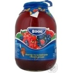 Nectar Vinni Moskovskyy with berries 3000ml glass jar Ukraine