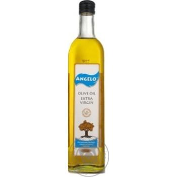 Масло Анжело оливка экстра вирджин 750мл стеклянная бутылка Испания