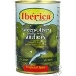 olive Iberica green pitted 314ml can