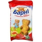 Shortcake Barni Sponge cake biscuit with biscuit 30g Ukraine