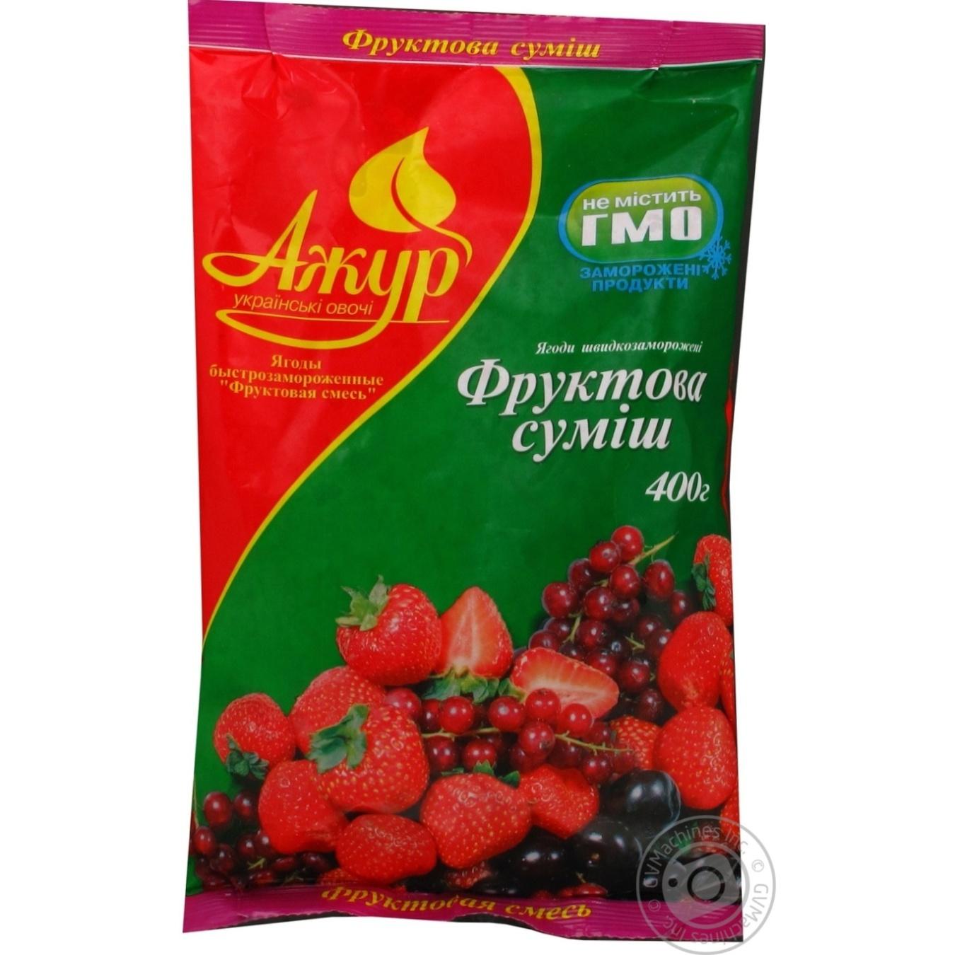 Berry mix Azhur frozen 400g Ukraine → Frozen → Fruits