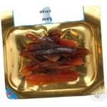 Лещ Рыбный Рай сушеный очищенный нарезанный соломкой 40г вакуумная упаковка Украина
