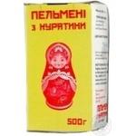 Пельмени Похитайло с курицей 500г Украина